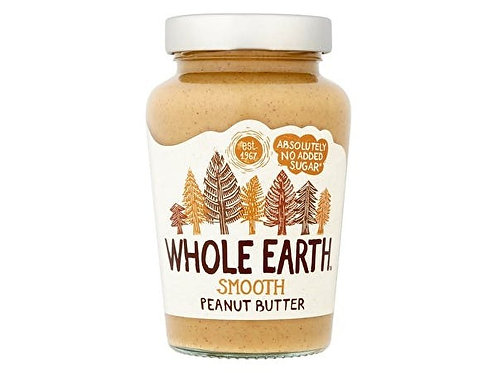 Whole Earth Smooth Peanut Butter