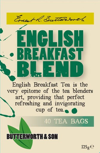 Butterworth & Son English Breakfast Tea Bags