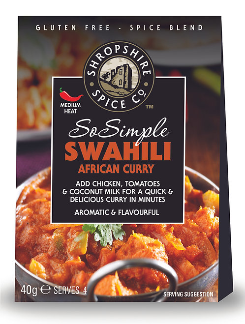 Shropshire Spice Co. Swahili African Curry Spice Blend (G/F)