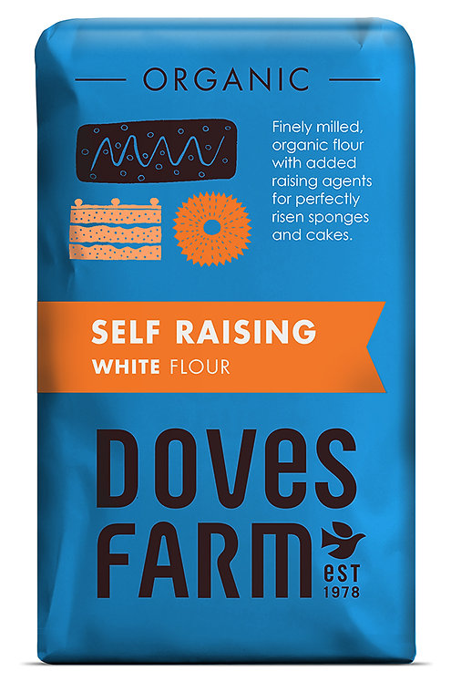 Doves Organic Self Raising White Flour Organic