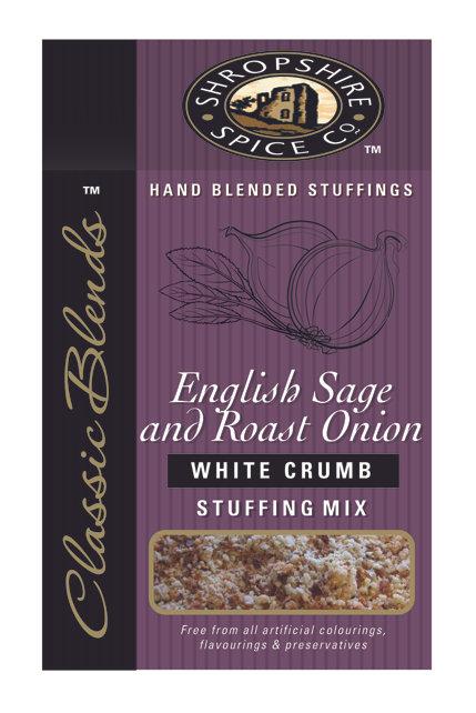 Shropshire Spice Co. English Sage & Roast Onion White Stuffing