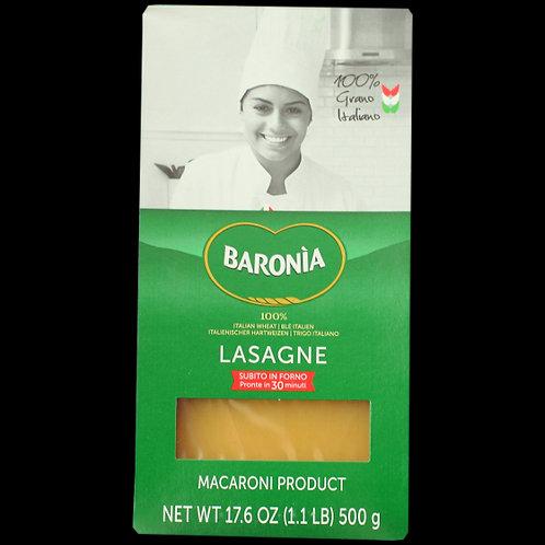 Baronia Lasagne Sheets