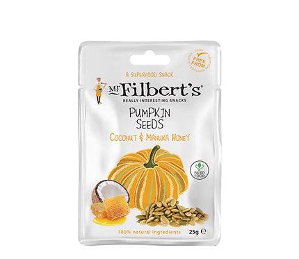 Mr. Filberts Pumpkin Seeds - Coconut & Manuka Honey