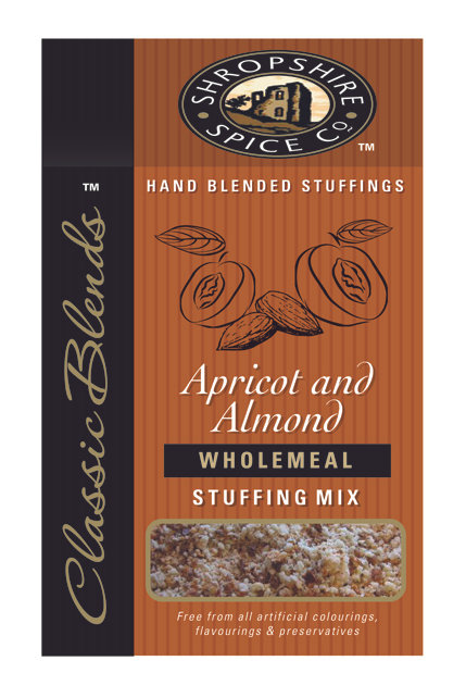 Shropshire Spice Co. Apricot & Almond Wholemeal Stuffing Mix