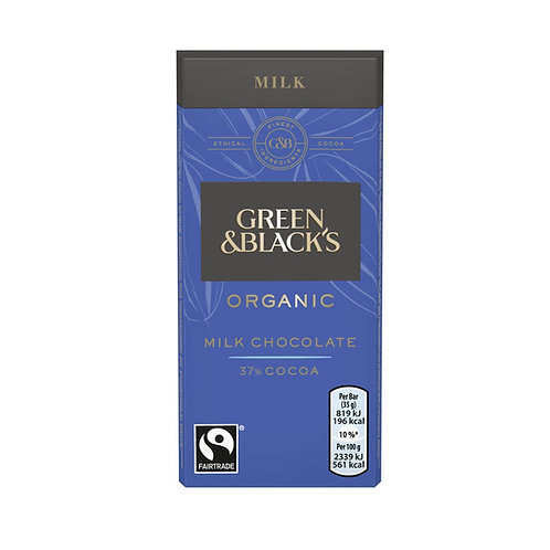 Green & Black's Organic Chocolate Bar 35g