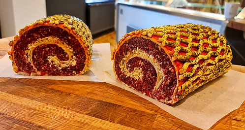 Spicy Beef Roulade