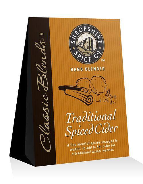 Shropshire Spice Co. Traditional Spiced Cider