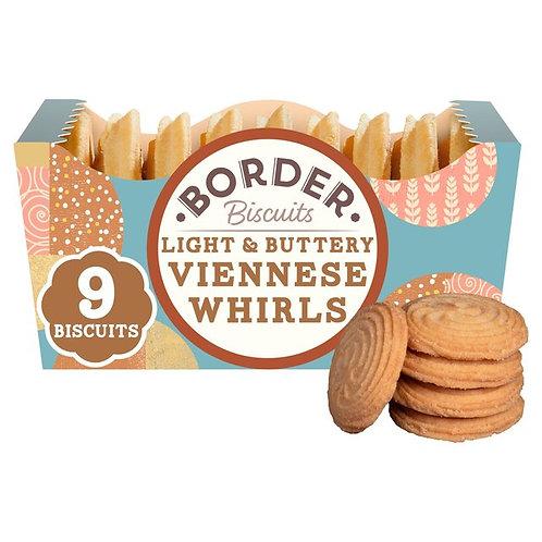 Border Light & Buttery Viennese Whirls