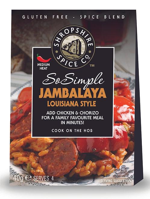 Shropshire Spice Co. Jambalaya Louisiana Style (G/F)