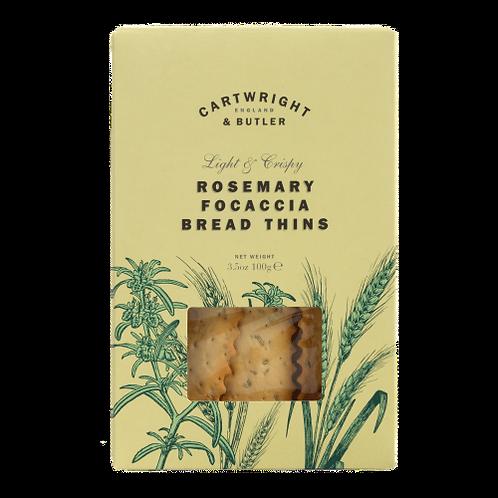 Cartwright & Butler Rosemary & Focaccia Bread Thins