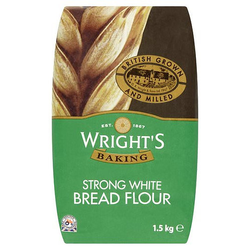 Wrights Strong Bread White Flour