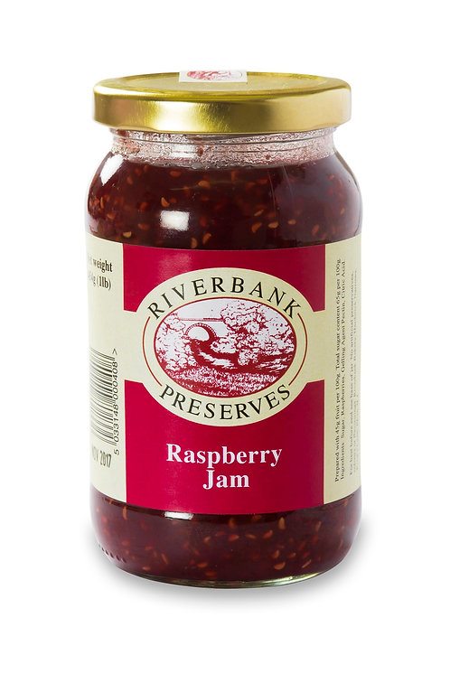 Riverbank Preserves Raspberry Jam