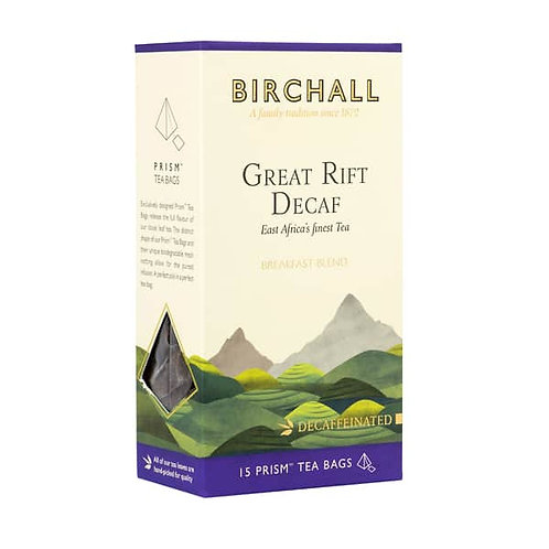 Birchall Great Rift Decaf Tea Bags
