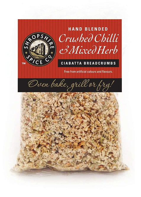 Shropshire Spice Co. Crushed Chilli & Mixed Herbs Breadcrumb Mix