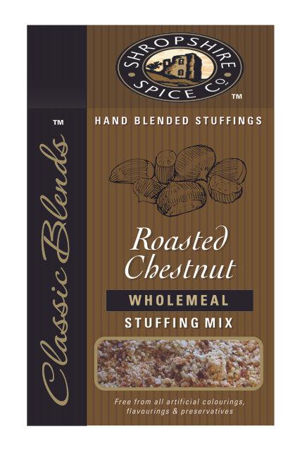 Shropshire Spice Co. Roasted Chestnut Wholemeal Stuffing Mix