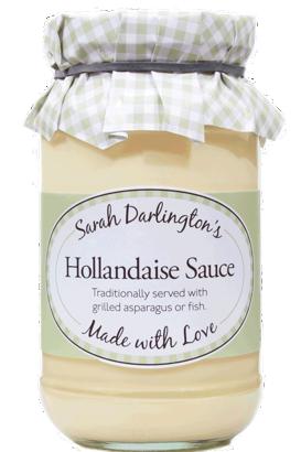 Sarah Darlington's Hollandaise Sauce