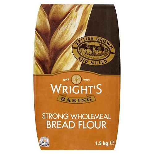 Wrights Strong Wholemeal Bread Flour