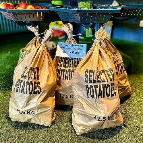 12.5Kg Bag of Local Potatoes
