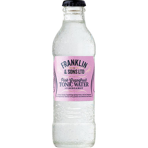 Franklin & Sons Pink Grapefruit with Bergamot Tonic Water