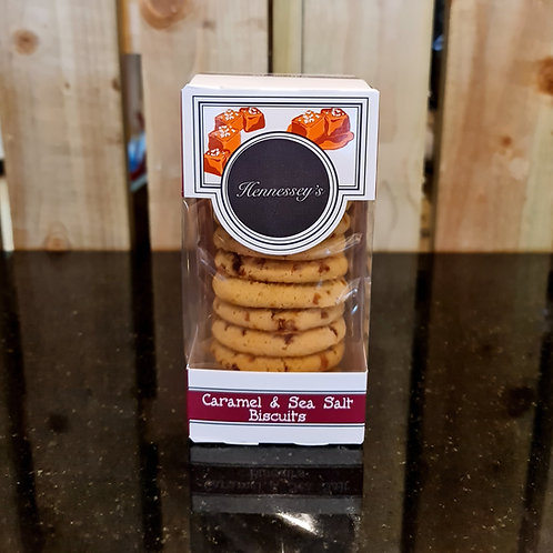 Hennessey's Salted Caramel Biscuits