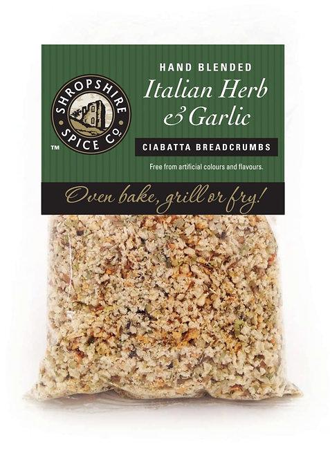 Shropshire Spice Co. Italian Herb & Garlic Breadcrumbs