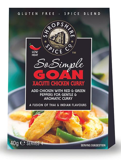 Shropshire Spice Co. Goan Xacutti Goan Curry Spice Blend (G/F)