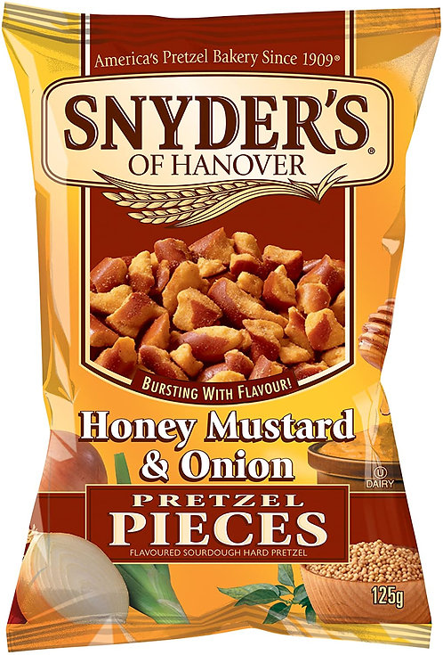 Snyder's Honey Mustard & Onion Pretzel Pieces