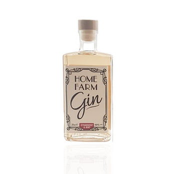 Home Farm Strawberry & Mint Gin 20cl