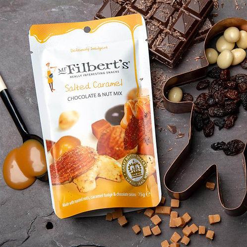 Mr. Filberts Salted Caramel Chocolate Nut Mix
