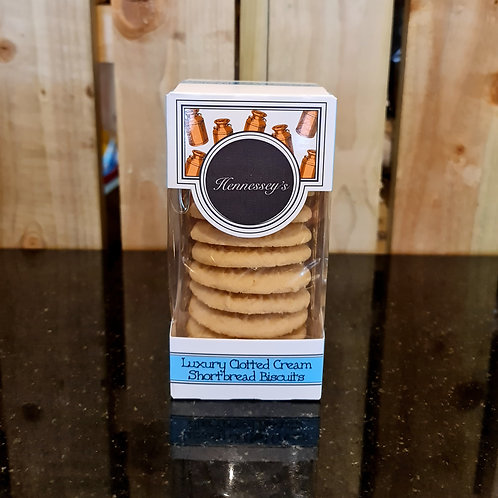 Hennessey's Luxury Clotted Cream Shortbread Biscuit