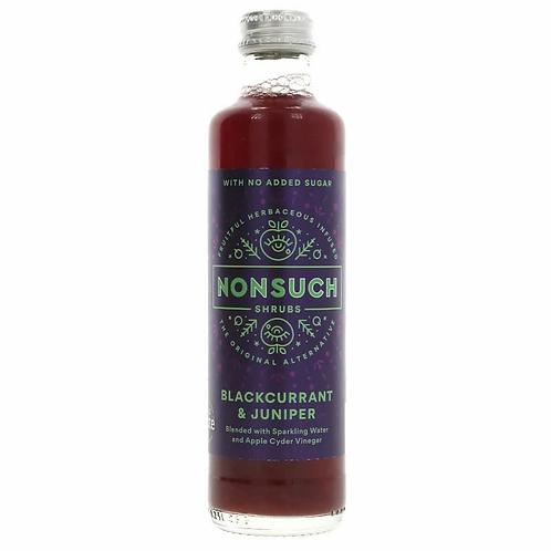 Nonsuch Shrubs Blackcurrant & Juniper