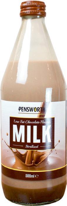Chocolate Flavoured Milk (500ml)