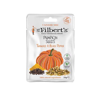 Mr. Filberts Pumpkin Seeds - Turmeric & Black Pepper