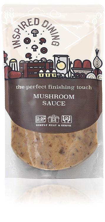 Inspired Dining Mushroom Pour Over Sauce
