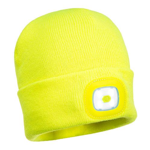 Kindermütze mit LED Kopflicht