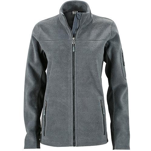 Damen Workwear Microfleece Jacke - Strong