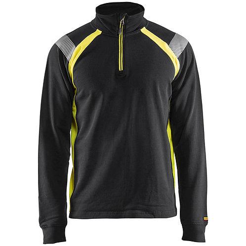 Sweatshirt mit Half-Zip