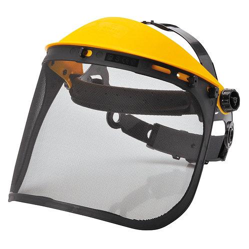 Kopfhalter mit Gitter-Visier
