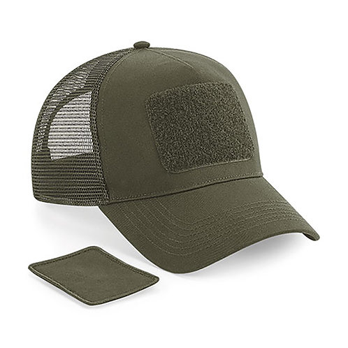 Patch Snapback Trucker Cap