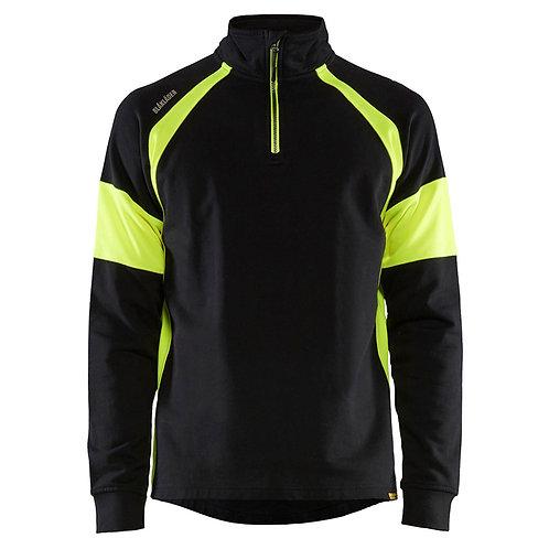 Sweatshirt mit High-Vis Einsätzen