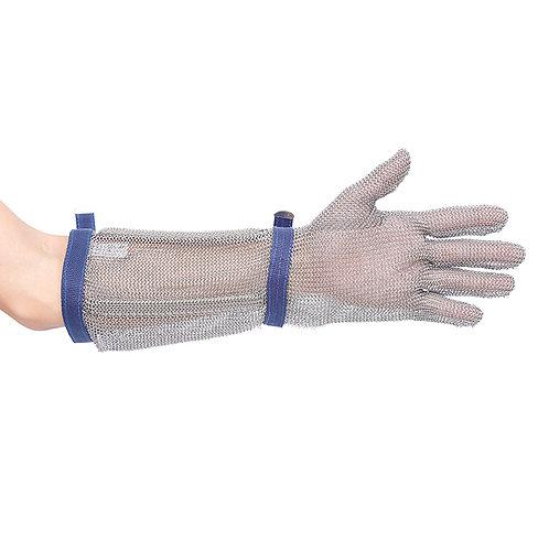 CHAINMAIL Kettenhandschuh mit Stulpe 45 cm