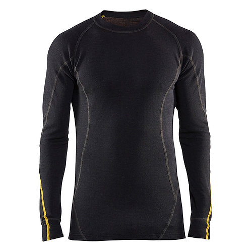Flammschutz Unterhemd , 78% Merinowolle