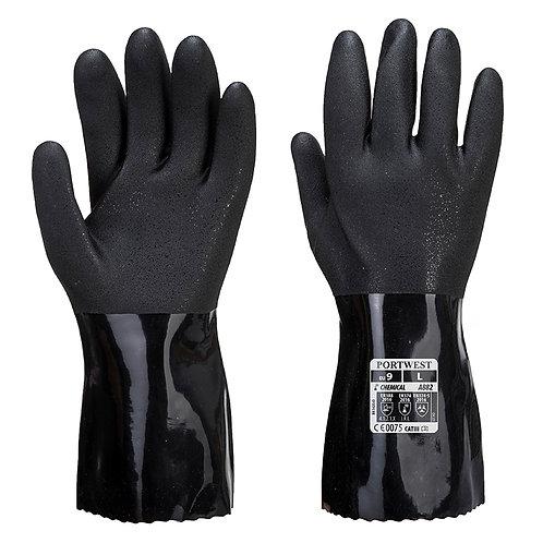 ESD PVC chemikalienbeständiger Schutzhandschuh