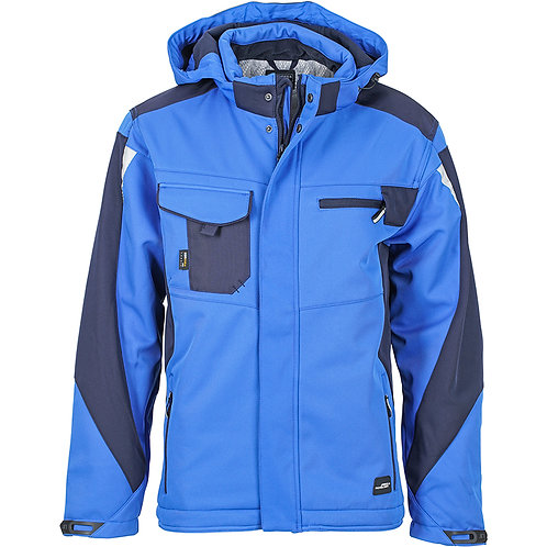 Workwear Winter Softshell Jacke - Strong