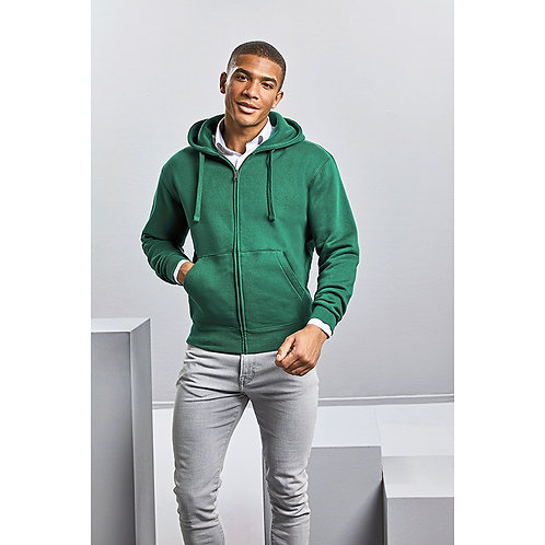 Herren Authentic Zipped Hood Jacket
