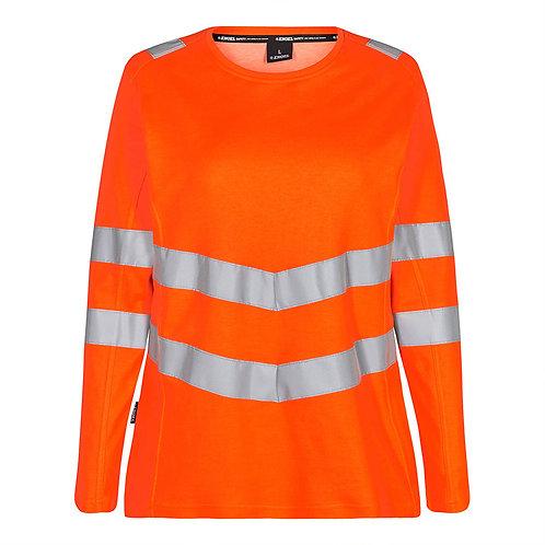 Damen Safety T-shirt L/S