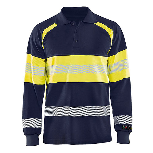 Multinorm Polo Shirt Langärmelig