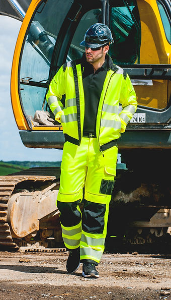 Warnschutz, Arbeitsschutz, Arbeitskleidung, HiVis, Kopfschutz