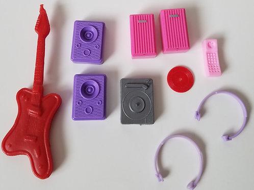 Vintage Barbie Music Things