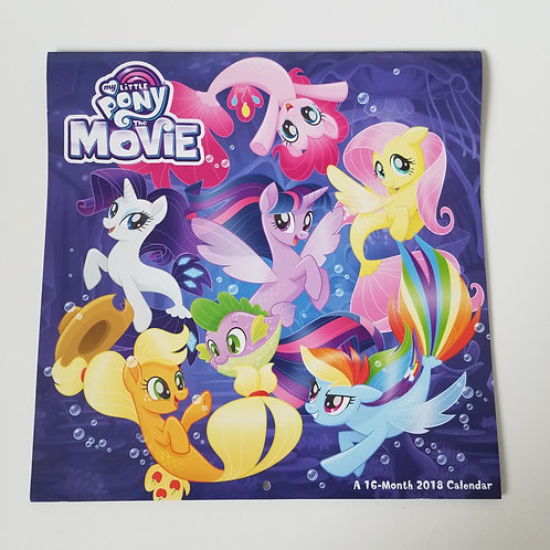 My Little Pony 2018 Calendar